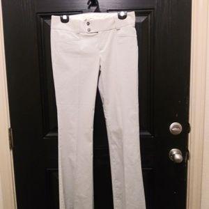 Banana Republic Ladies Trousers w/ Pin Stripes